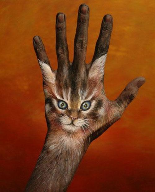 Боди-арт на руках